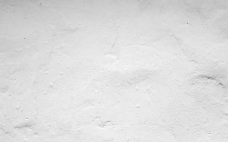 cement plaster wall white background