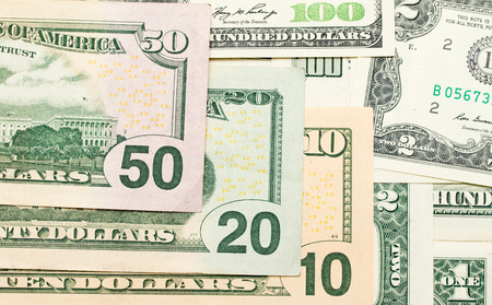 us dollars: US dollars, paper notes