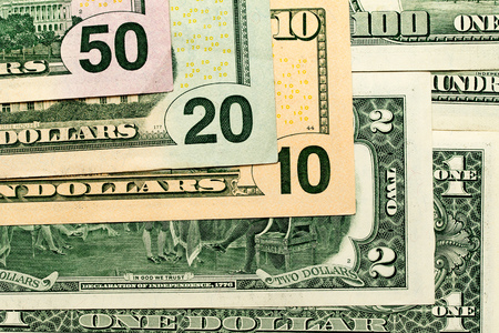 us dollars: Money, US dollars, paper notes