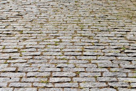 pavers: Old stone pavers Stock Photo