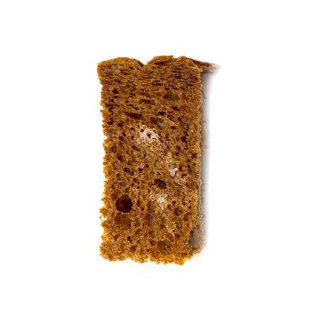 crumbs: crumbs of bread croutons Stock Photo