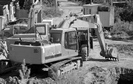 repairs: excavator piping repairs, equipment