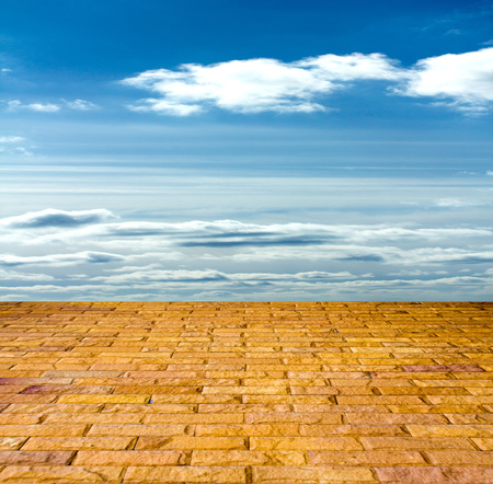 pavers: stone pavers in the sky