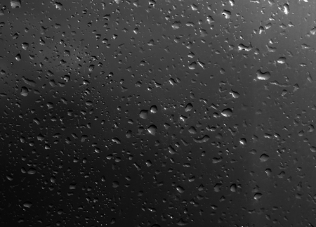 waterdrops: waterdrops bubbles on a dark background