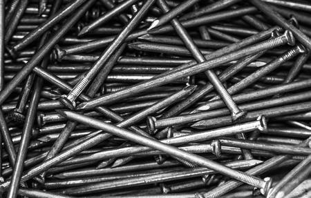 many nails background