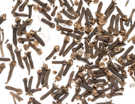 cloves: cloves spices on white background Stock Photo