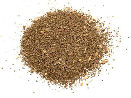 tea fine dry powder