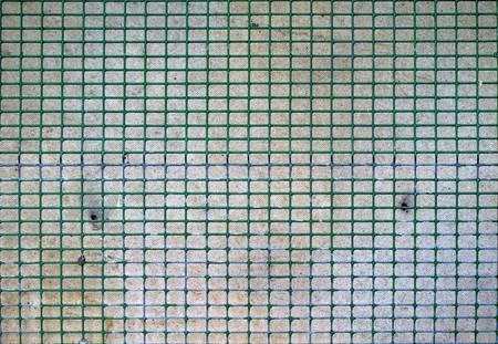 wire mesh fence Фото со стока