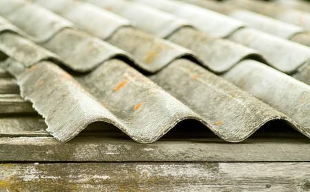 old slate roof