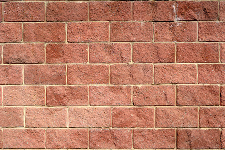 weathered: Brick wall background
