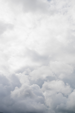 cumulonimbus: Cumulonimbus clouds in the sky Stock Photo