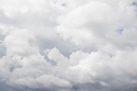 overcast: Cumulonimbus clouds in the sky Stock Photo
