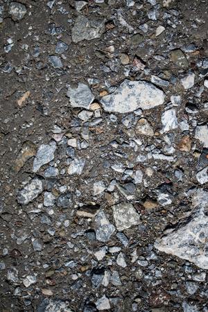 crack: Old asphalt background texture
