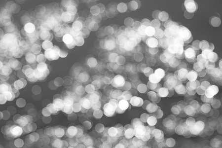 silver background: Blurred background bokeh white on a light Stock Photo