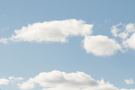 atmosphere: blue sky clouds Stock Photo