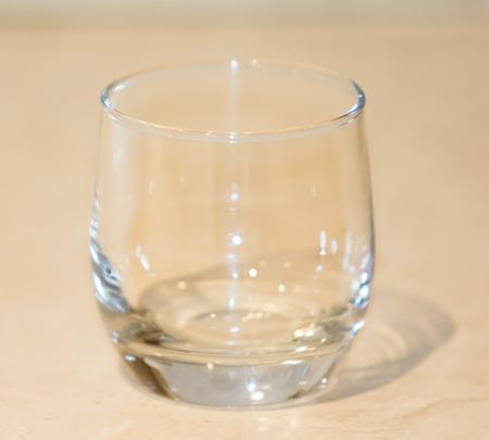 empty glass goblet wineglass