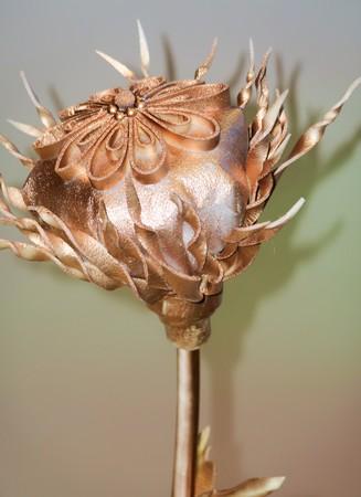 poppy flower artificial cloth