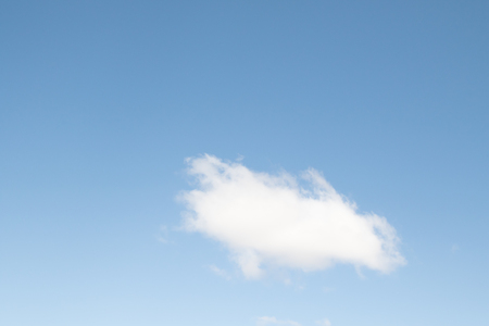 blue sky and white clouds, natural sky background Stock Photo