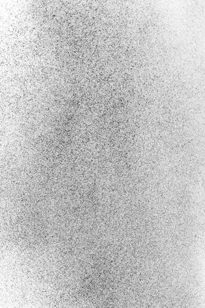black dust powder charcoal  on white background Stock Photo