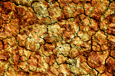 fire crack in ground background Standard-Bild - 107601771