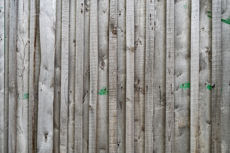 Old gray wooden fence background