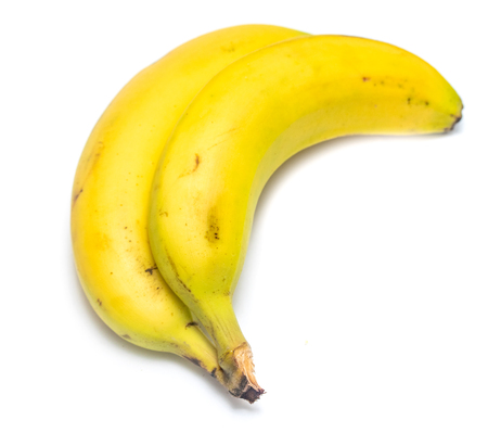 bananas on a white background Stock Photo - 124978537