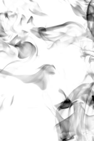 black smoke on white background 版權商用圖片 - 116056290