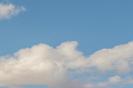 blue sky clouds 免版税图像
