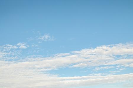 blue sky clouds Reklamní fotografie