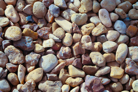 rounded crushed stone white red texture background 版權商用圖片