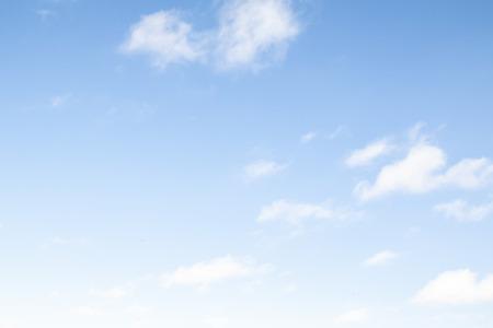 Ciel bleu en arrière-plan par temps clair. Banque d'images