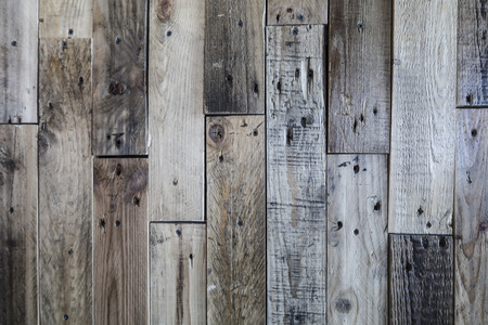 The texture of the wooden fence, the background of the wooden panel. Stock Photo