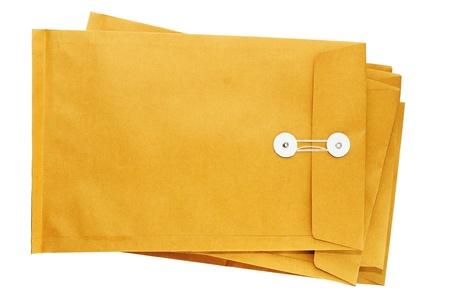 Envelopes isolated 版權商用圖片
