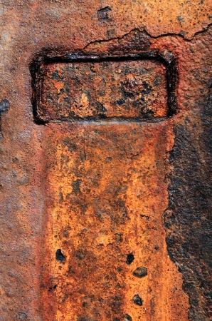 corroded: Background And Texture of Rusty Metal Stock Photo
