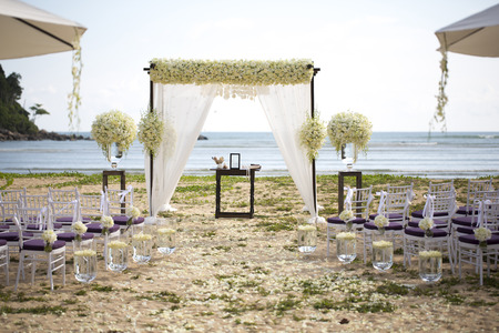 wedding setting