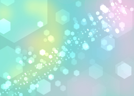 Abstract light bokeh background photo