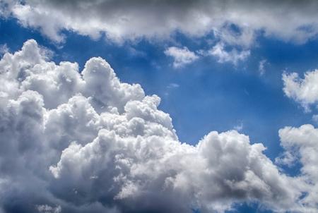 Clouds in the sky Stock fotó - 20583925