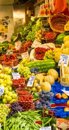 veg: Fruit   veg market Stock Photo