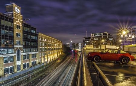 earls court: Photo of Kensington lines was taken in Kensington,London,UK Editorial