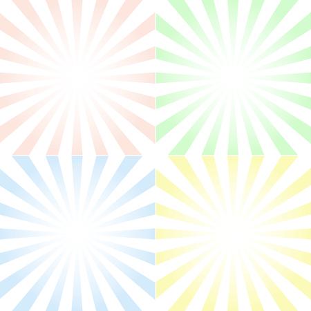 中心対称線とグラデーション ベクトルの背景のセット 写真素材 - 82489638