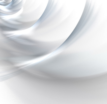 Abstract white background with light grey snow waves texture, fractal