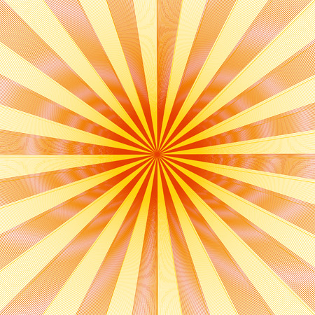 Illusion line diffraction background with rays texture Illustration