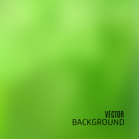 Abstract green background with blurred and defocused texture, in vector