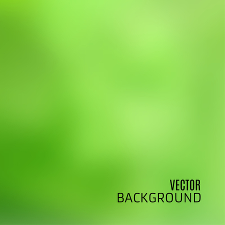 photography backdrop: Abstract light green background with blurred and defocused texture, in vector Illustration