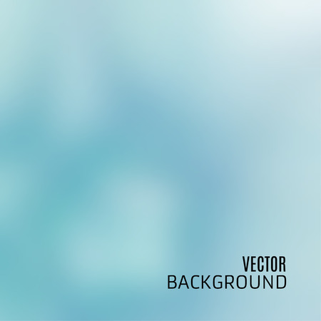 photography backdrop: Abstract light blue background with sky and clouds texture, blurred and defocused, in vector