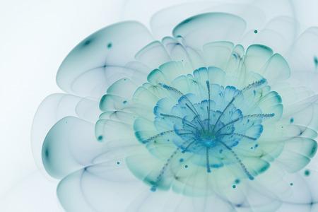 Zusammenfassung Weißen Hintergrund Mit Blau Und Türkis ...