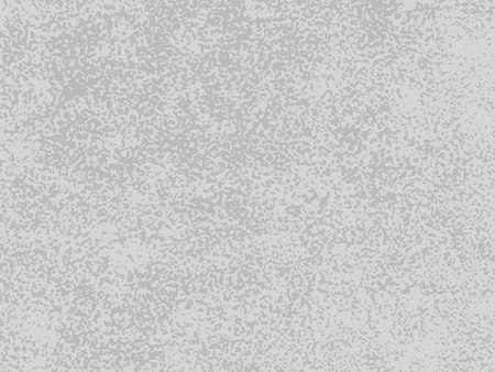 Rough marble stone background texture. Gray scratchy sandstone wall or floor rock. Gray shaggy dotted sand vector pattern.