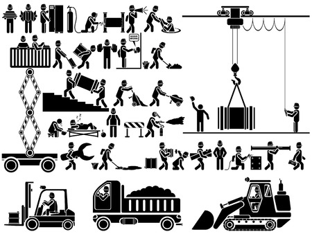 ICON MAN WORK Illustration