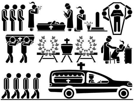 bible background: ICON MEN FUNERAL
