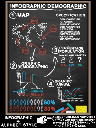 INFOGRAPHIC BLACKBOARD